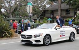Congressista Jimmy Panetta no 4o da parada de julho, Monterey, CA Fotografia de Stock