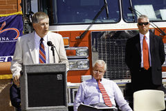 Congressman Kissel Speaking at 9 11 Ceremony Stock Image