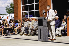 Congressman Kissel Speaking at 9 11 Ceremony Royalty Free Stock Image