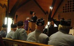 Congressman Rob Andrews. Congressman Robert Andrews speaks at Camden County's 24th annual prayer breakfast Stock Image