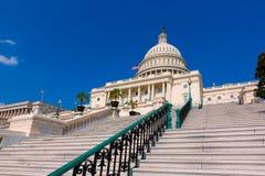Congresso dos EUA do Washington DC da construção do Capitólio Fotografia de Stock