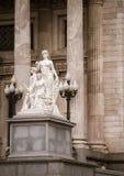 Congresso nacional buenos aires statue Royalty Free Stock Photo