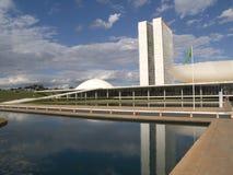 Congresso nazionale brasiliano Fotografie Stock