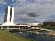 Congresso nazionale brasiliano Fotografia Stock Libera da Diritti