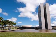 Congresso nazionale brasiliano Immagini Stock
