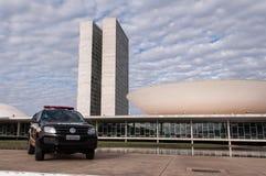 Congresso nazionale brasiliano Fotografia Stock