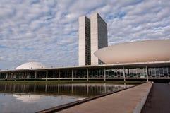 Congresso nazionale brasiliano Immagine Stock