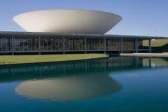 Congresso nazionale del Brasile fotografie stock