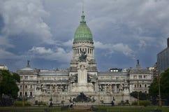 Congresso nazionale della nazione dell'Argentina Fotografia Stock