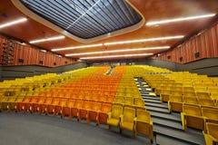Congresso-salão da escola de gestão SKOLKOVO de Moscou Fotos de Stock Royalty Free
