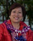congresswoman hanabusa zdjęcie stock