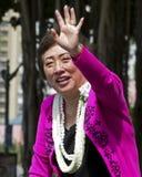 Congresswoman Hanabusa obrazy royalty free