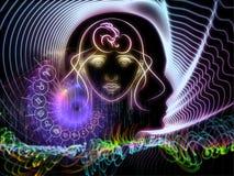 Conhecimento astral Fotografia de Stock