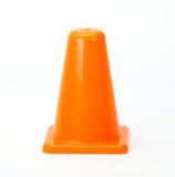 Coni arancioni di traffico fotografie stock libere da diritti