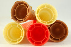 Coni Colourful Fotografia Stock Libera da Diritti