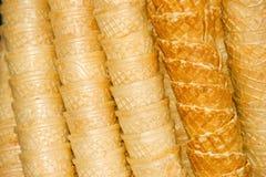 Coni di gelato Immagine Stock Libera da Diritti