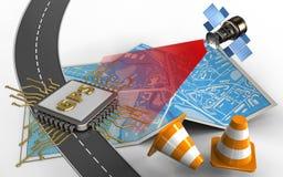 coni di riparazione 3d Immagini Stock Libere da Diritti