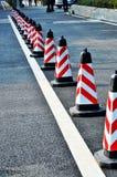 Coni di traffico Fotografia Stock Libera da Diritti