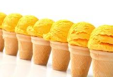 Coni gelati Fotografie Stock