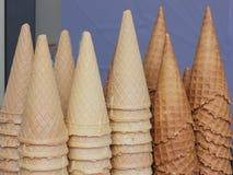 Coni gelati Immagine Stock Libera da Diritti