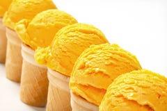 Coni gelati Fotografia Stock