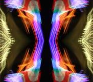 Coni retinici al neon Fotografie Stock Libere da Diritti