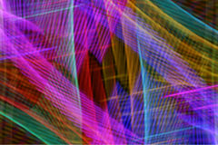 Coni retinici al neon Fotografia Stock