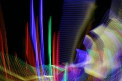 Coni retinici al neon Immagine Stock