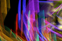Coni retinici al neon Fotografia Stock Libera da Diritti