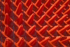 Coni in un reticolo Fotografie Stock