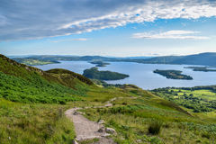 Conic Hill Loch Lomond Royalty Free Stock Photos