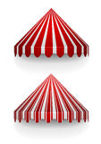 Conical awnings Stock Image