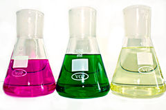 Conical flask Stock Photography