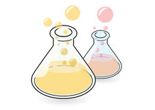 Conical flask Royalty Free Stock Photography