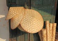Conical kapelusze Zdjęcia Royalty Free