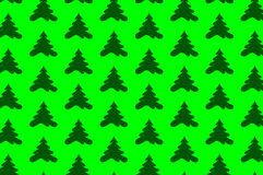Coniferous tree - vector background Royalty Free Stock Photo