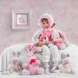 Conigli Fotografie Stock