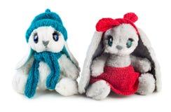 Conigli del giocattolo Immagine Stock Libera da Diritti