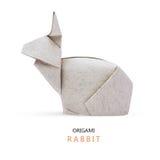 Conigli di carta di origami Immagine Stock Libera da Diritti