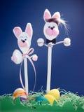 Conigli di Pasqua immagine stock