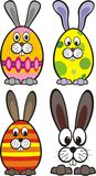 Conigli di Pasqua Royalty Illustrazione gratis