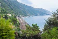 Coniglia train railway station Stock Image