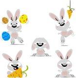 Coniglietti del fumetto Fotografia Stock Libera da Diritti