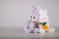 Coniglietti di pasqua Fotografie Stock Libere da Diritti
