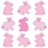 Coniglietti di pasqua del bambino Immagine Stock Libera da Diritti
