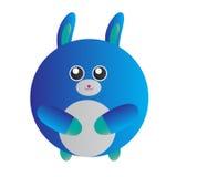 Coniglietto blu Immagini Stock