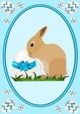 Coniglietto del bambino di Pasqua illustrazione di stock