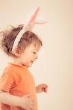 Coniglietto del bambino di Pasqua immagine stock