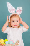Coniglietto di pasqua Fotografia Stock