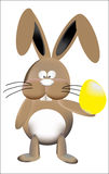 Coniglietto di pasqua Immagini Stock Libere da Diritti
